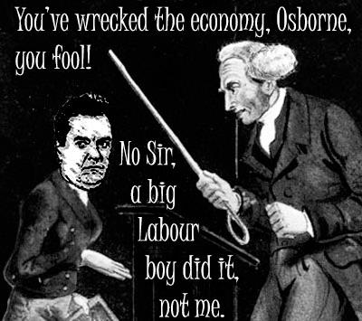 Image result for a big labour boy did it osborne