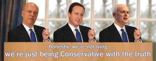 Image result for Tory lies