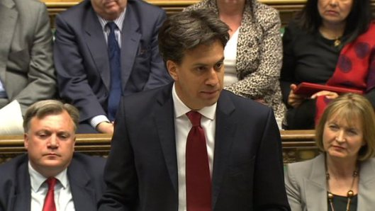 Champion of democracy: Ed Miliband told the country he wants Parliament to provide what the people want, signalling a return to the principles of democratic government that have been abandoned by the Conservatives and Liberal Democrats.