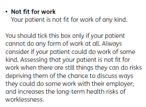 DWP told GP to stop issuing sick notes for seriously ill father – Fit Note