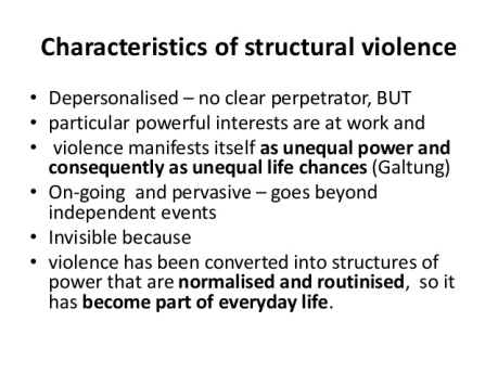 structural violence