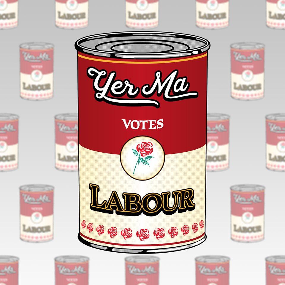 Yer Ma Votes Labour