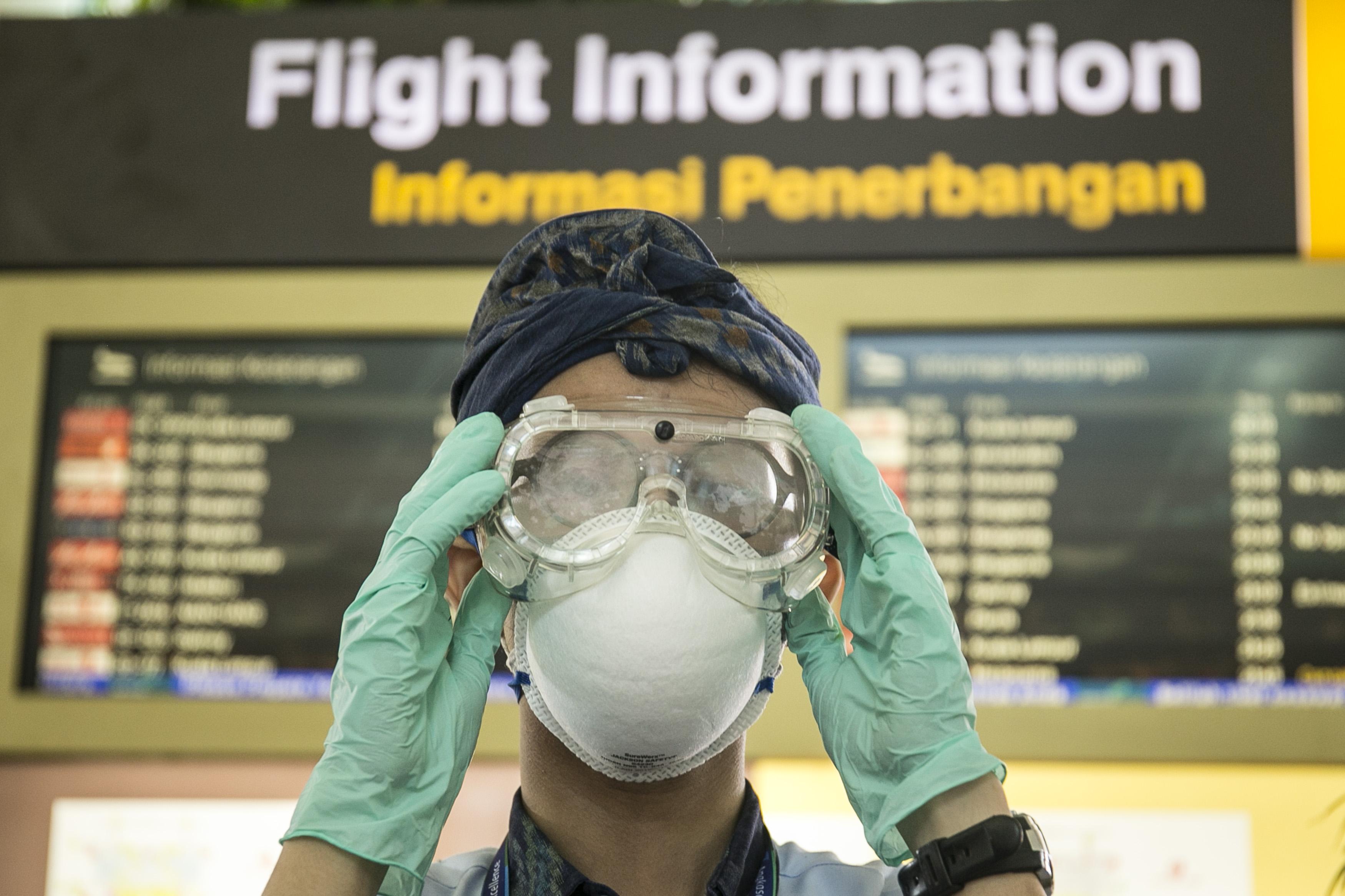 High Alert Coronavirus Prevention In Bali