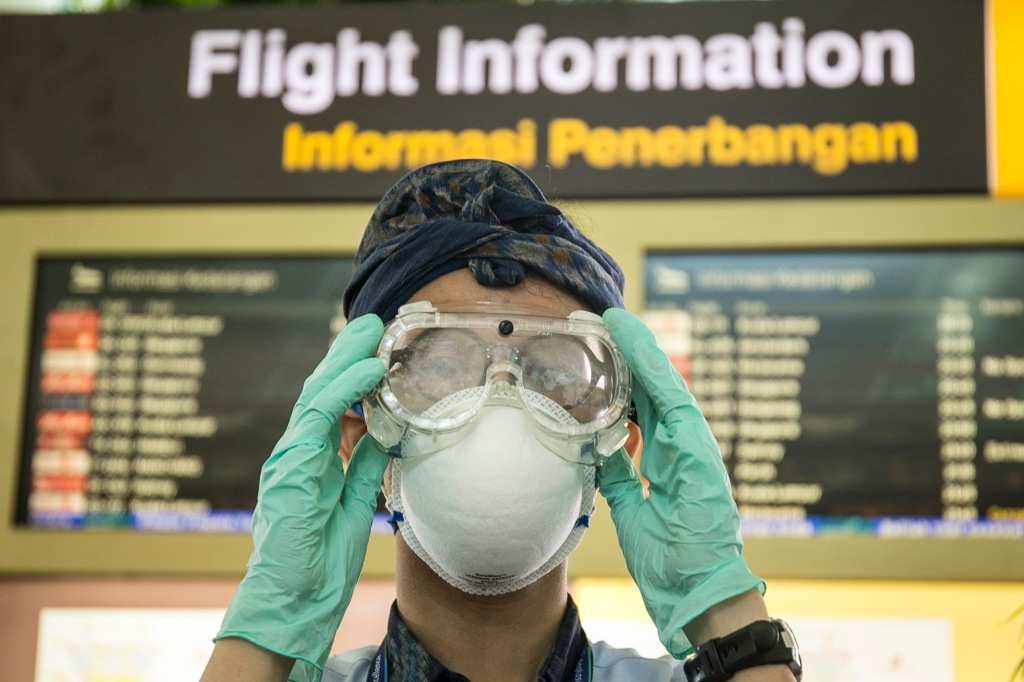 High Alert Coronavirus Prevention In Bali